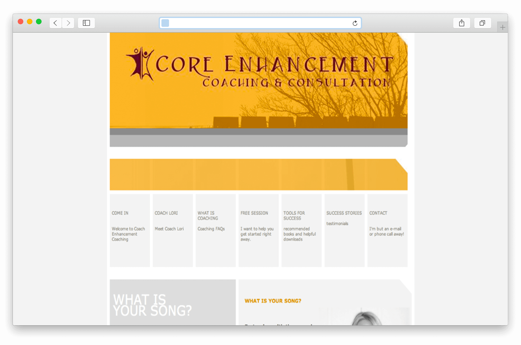 Core Enhancement Coaching