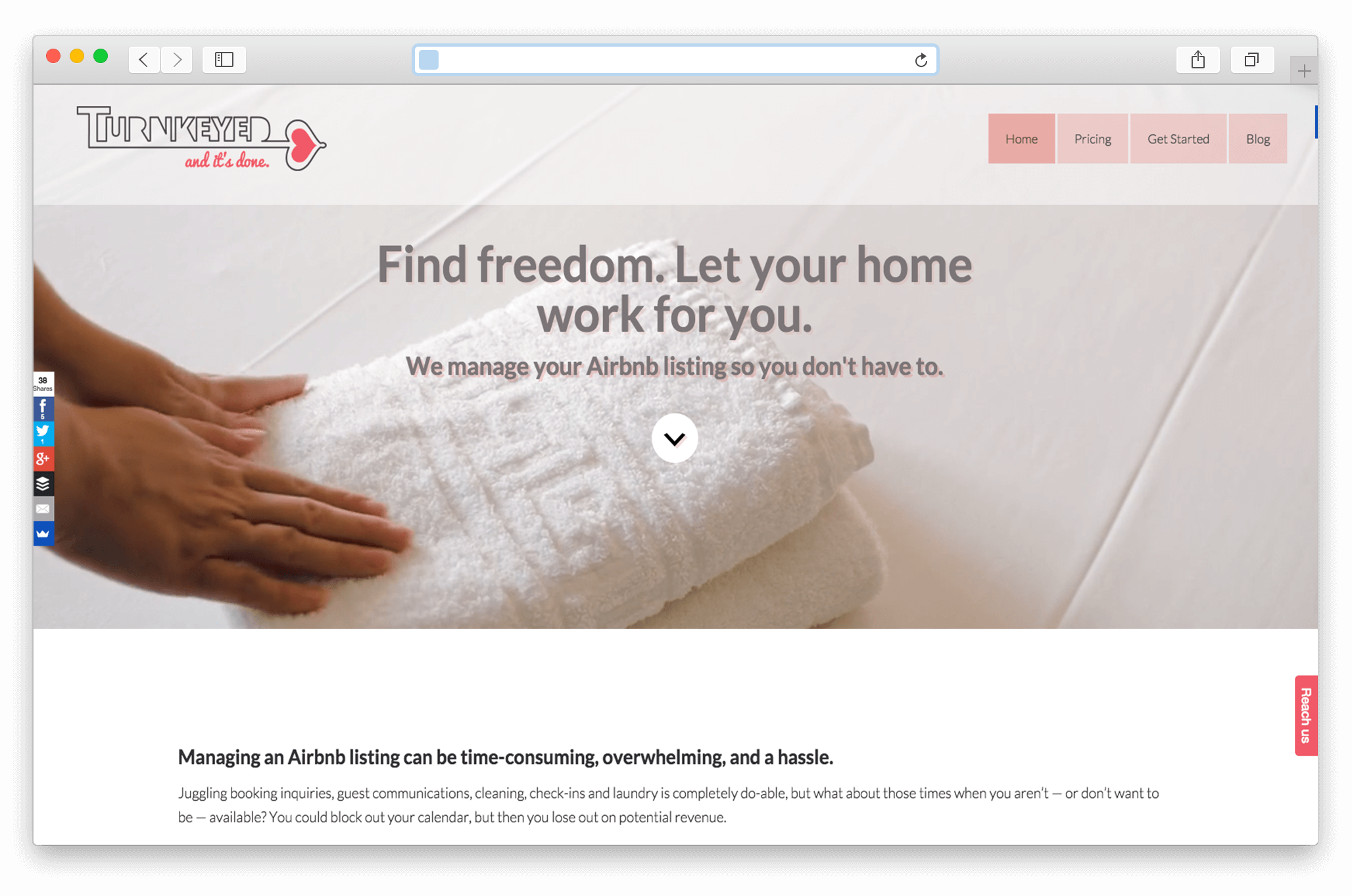 Turnkeyed Airbnb Management Services