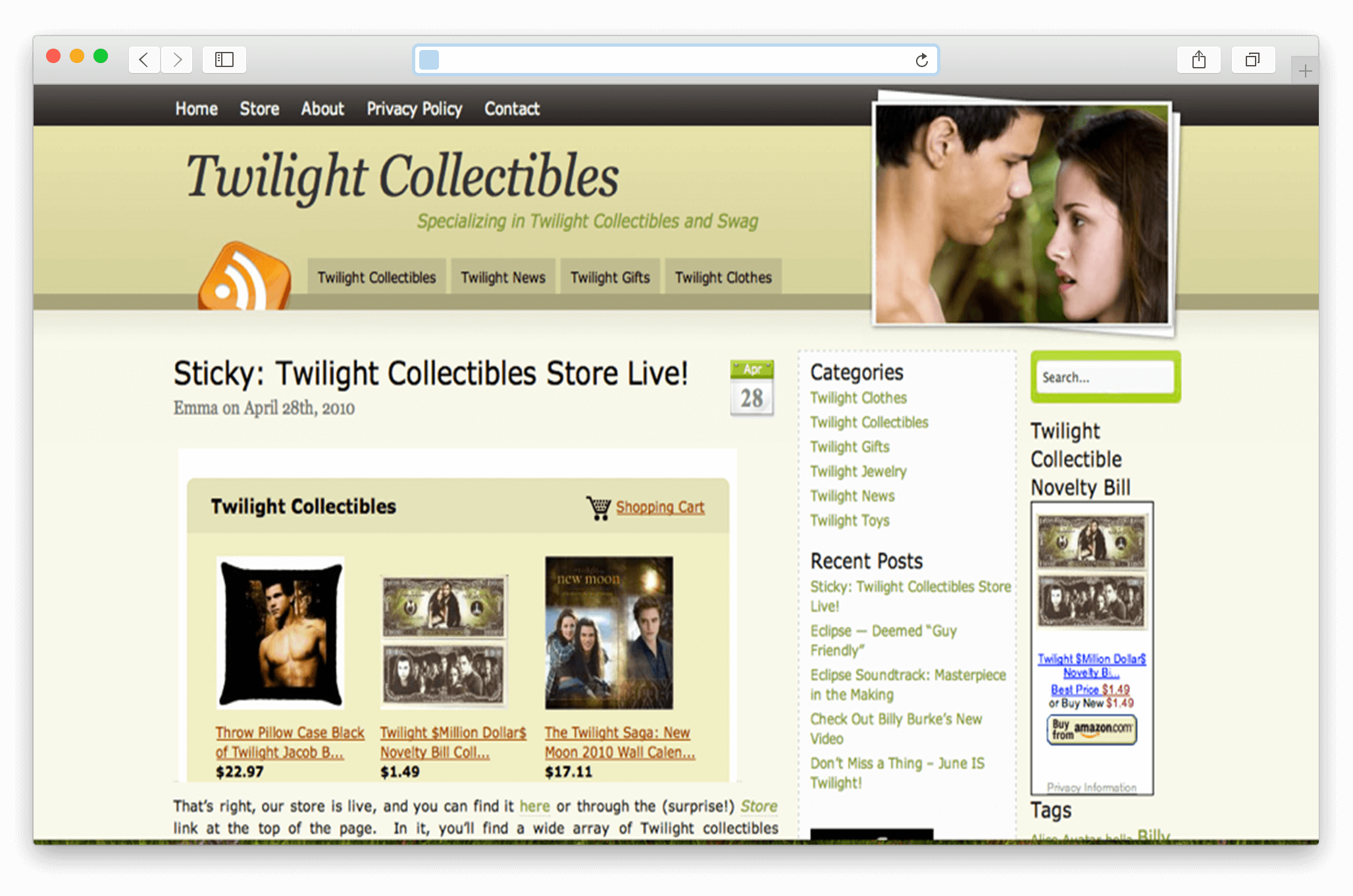 Twilight Collectibles